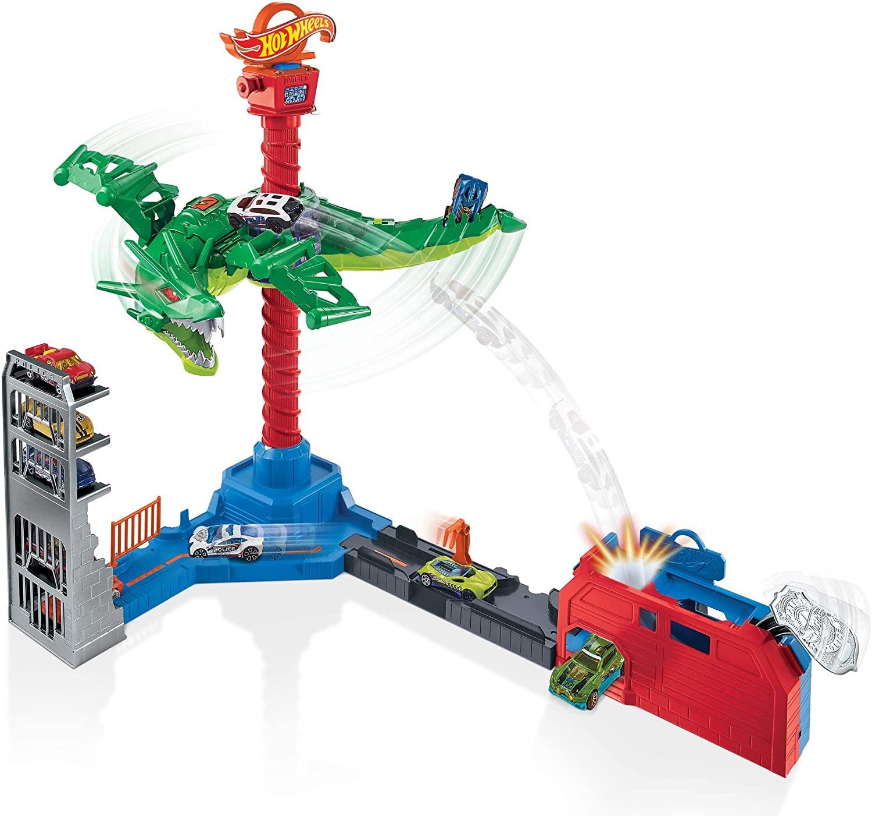 Hot Wheels City -  Pista Ataque Aéreo do Dragão