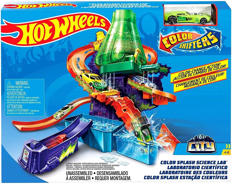 Hot Wheels Color Change - Com Estação Cientifica