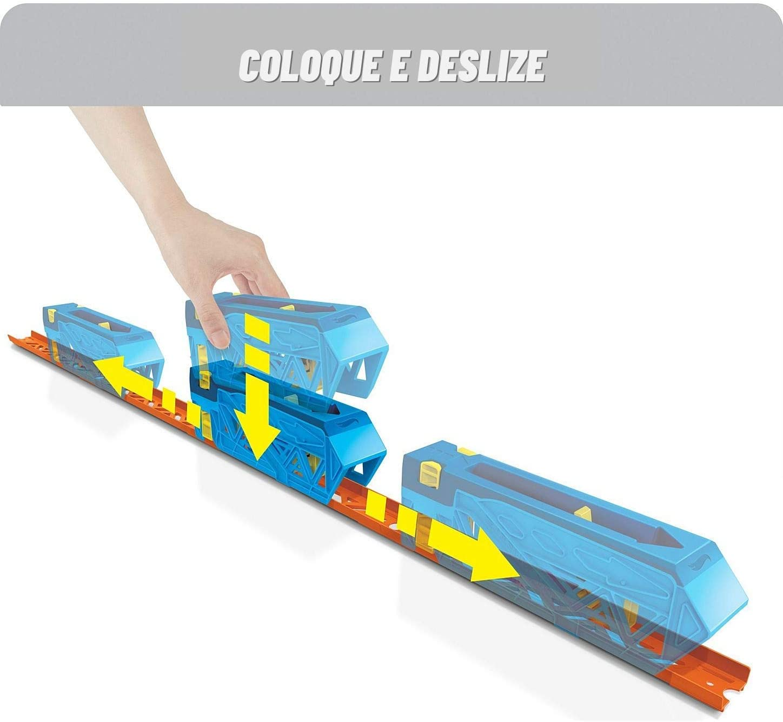 Hot Wheels - Conjunto de Pista de Impulso Track Builder