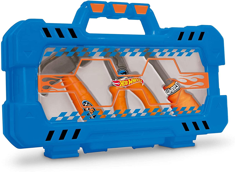 Hot Wheels - Maleta Porta Ferramentas com 3 Acessórios