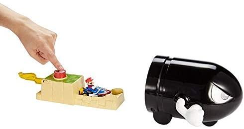 Hot Wheels Mario Kart - Conjunto Lançador Bullet Bill