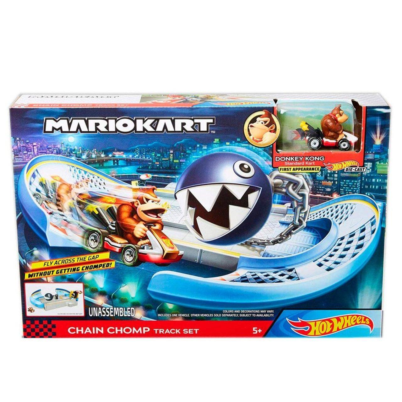 Hot Wheels -  Mario Kart Conjunto Nemesis Donkey Kong