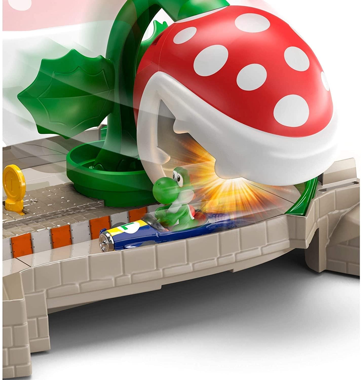 Hot Wheels -  Mario Kart Conjunto Nemesis Yoshi