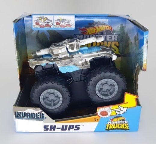 Hot Wheels - Monster Trucks - Bash-Ups Invader
