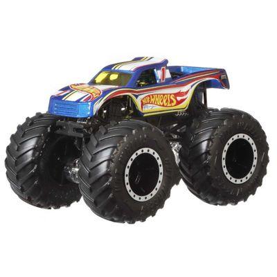 Hot Wheels - Monster Trucks Demolition Doubles - 4 Vs 1