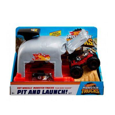 Hot Wheels - Monster Trucks Lançadores Radicais - Bone Shaker