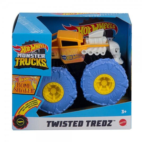 Hot Wheels - Monster Trucks - Pneus Para Todo Terreno - Bone Shaker