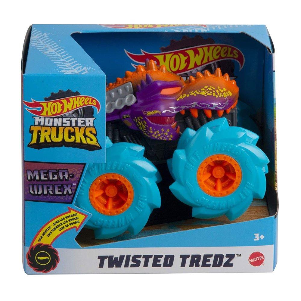 Hot Wheels - Monster Trucks - Pneus Para Todo Terreno - Mega Wrex