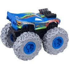 Hot Wheels - Monster Trucks - Pneus Para Todo Terreno - Rodger Dodger Azul