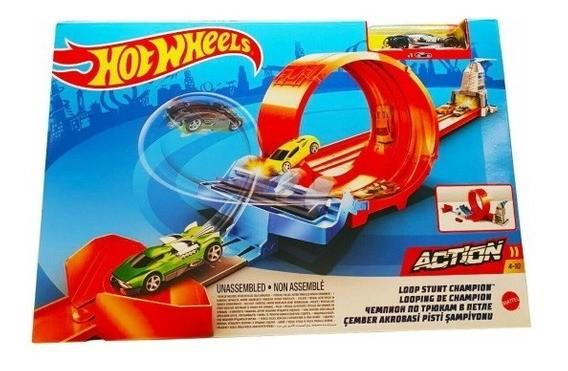 Hot Wheels - Pista Campeonato Looping