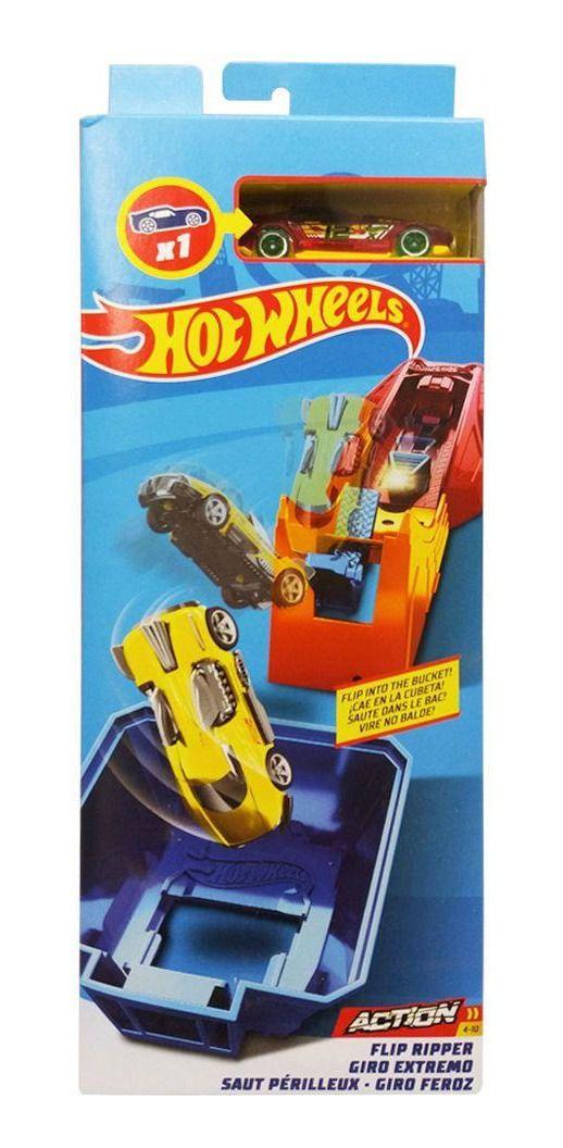 Hot Wheels - Pista de Acrobacia Giro Feroz