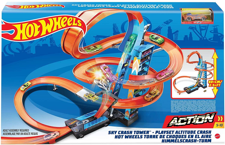 Hot Wheels - Pista Torre de Colisão Aérea