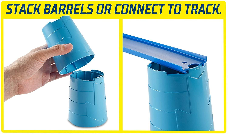 Hot Wheels - Track Builder Barrel Box