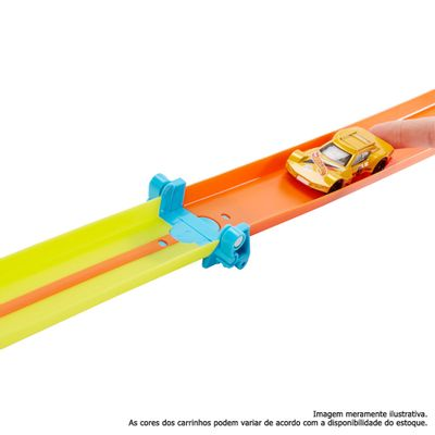 Hot Wheels - Track Builder - Conjunto de Pista Dobrável