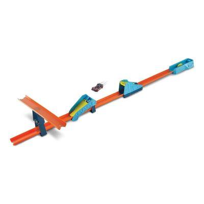 Hot Wheels - Track Builder - Conjunto Pista Salto Longo