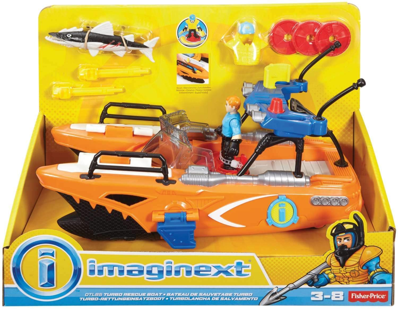 Imaginext - Barco de Resgate