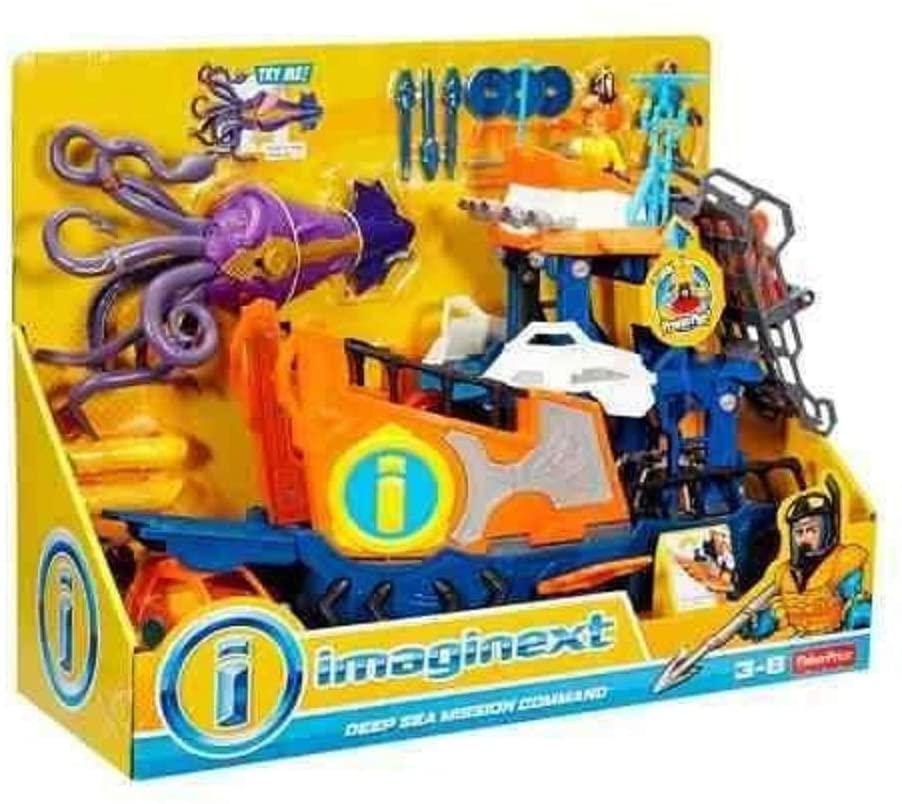 Imaginext - Navio Comando do Mar