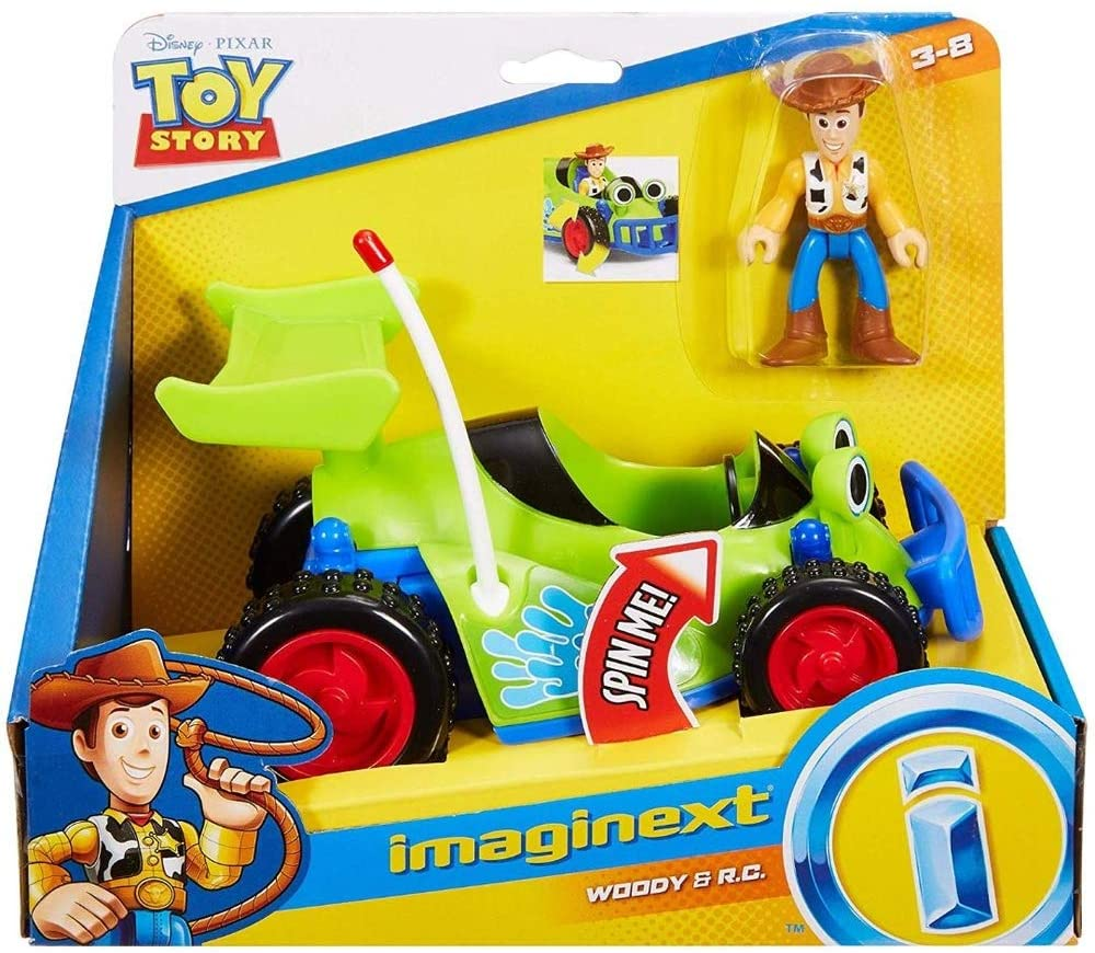 Imaginext - Toy Story Woody e R.C Veículo