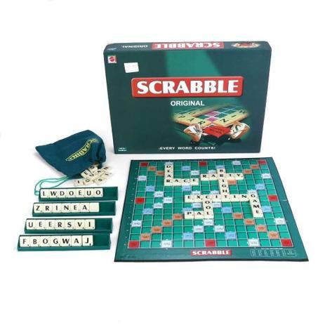 Jogo Scrabble Original  - Palavras Cruzadas