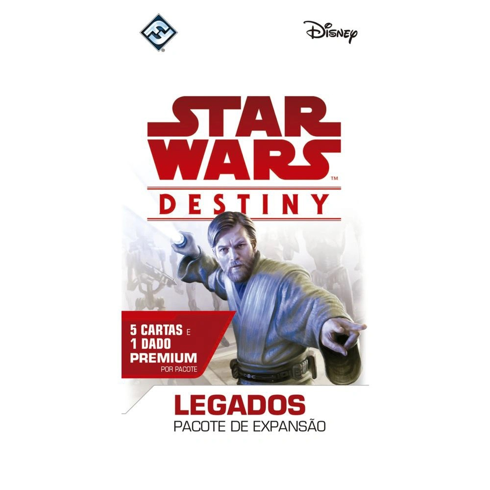 Jogo Star Wars Destiny Pacotes De Expansão - Legados