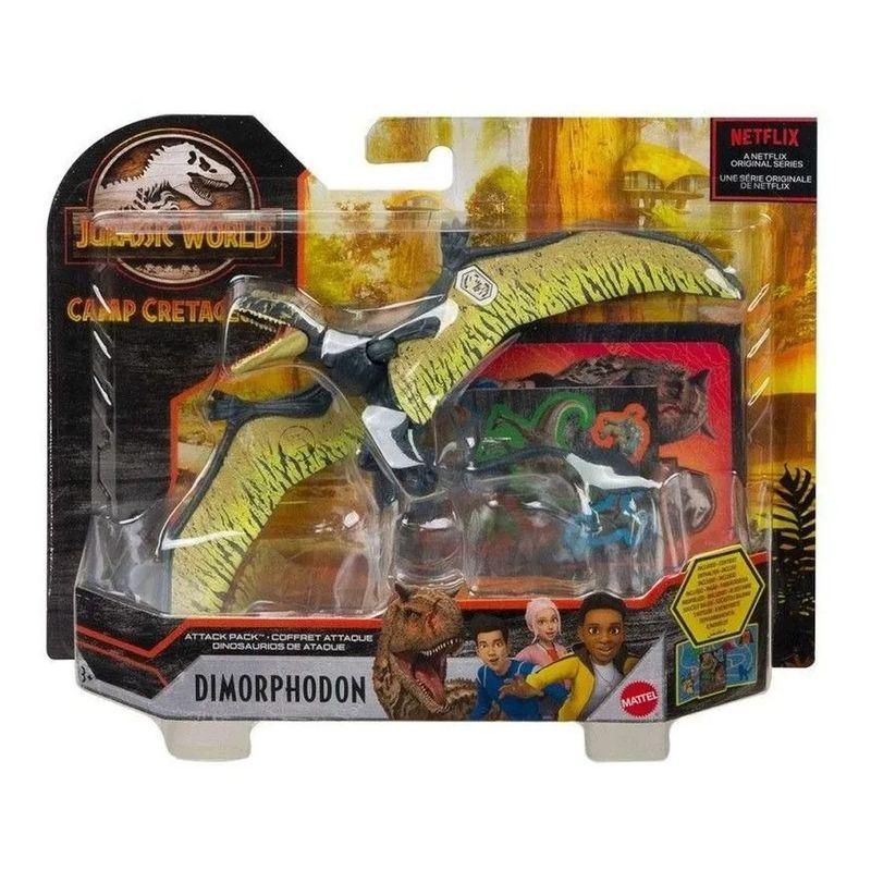 Jurassic World Attack Pack - Dinossauro Dimorphodon
