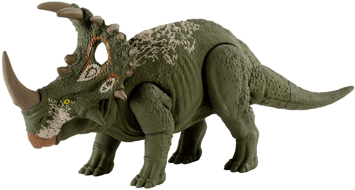 Jurassic World -  Dinossauro Ruge e Ataca Sinoceratops