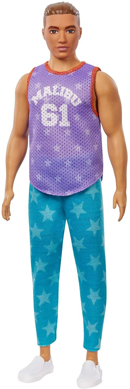 Ken Fashionistas - 164 Camisa Malibu Calça Estrelas