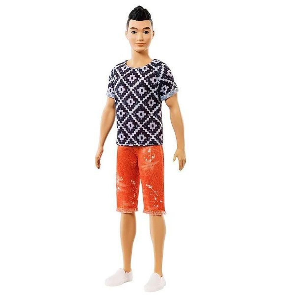 Ken Fashionistas - Bermuda Laranja