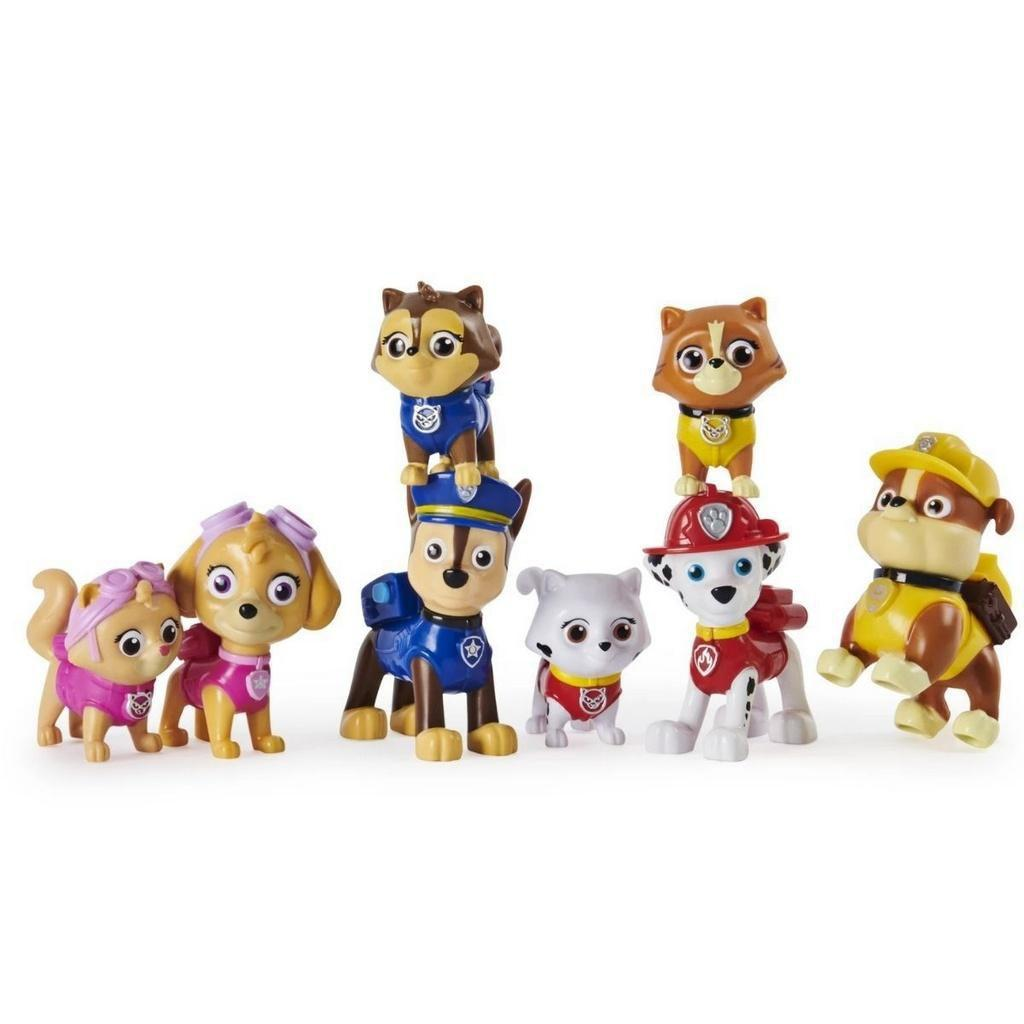 Kit Catastrophe Gift Patrulha canina com 8 personagens