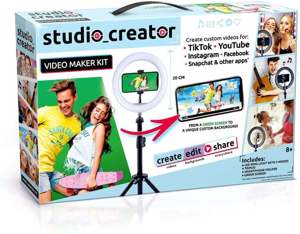 Kit Influencer Studio Creator - Fun Divirta-se