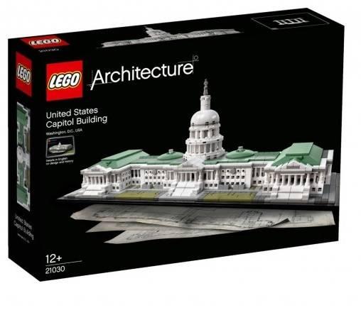 LEGO Architecture - Edifício do Capitólio dos EUA