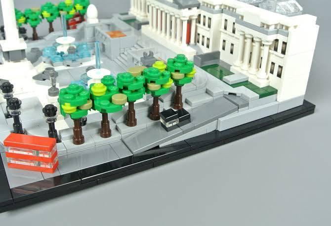 LEGO Architecture - Praça Trafalgar