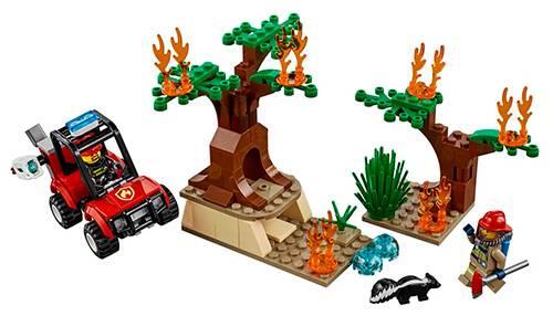 LEGO City - Avião de Incêndio 60217