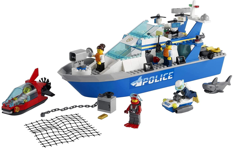 LEGO City - Barco da Patrulha da Polícia 60277
