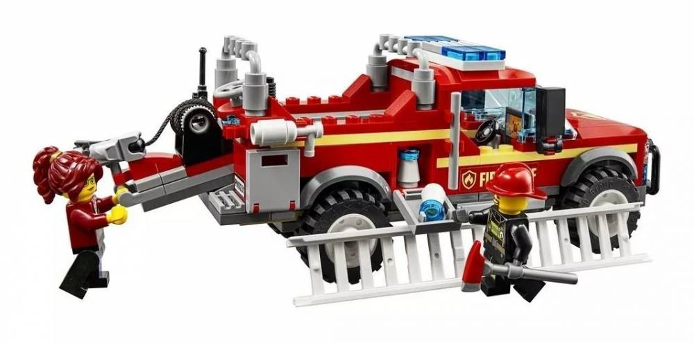 LEGO City - Caminhão do Chefe dos Bombeiros 60231