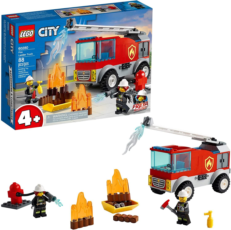 LEGO CIty - Caminhão dos Bombeiros com Escada 60280