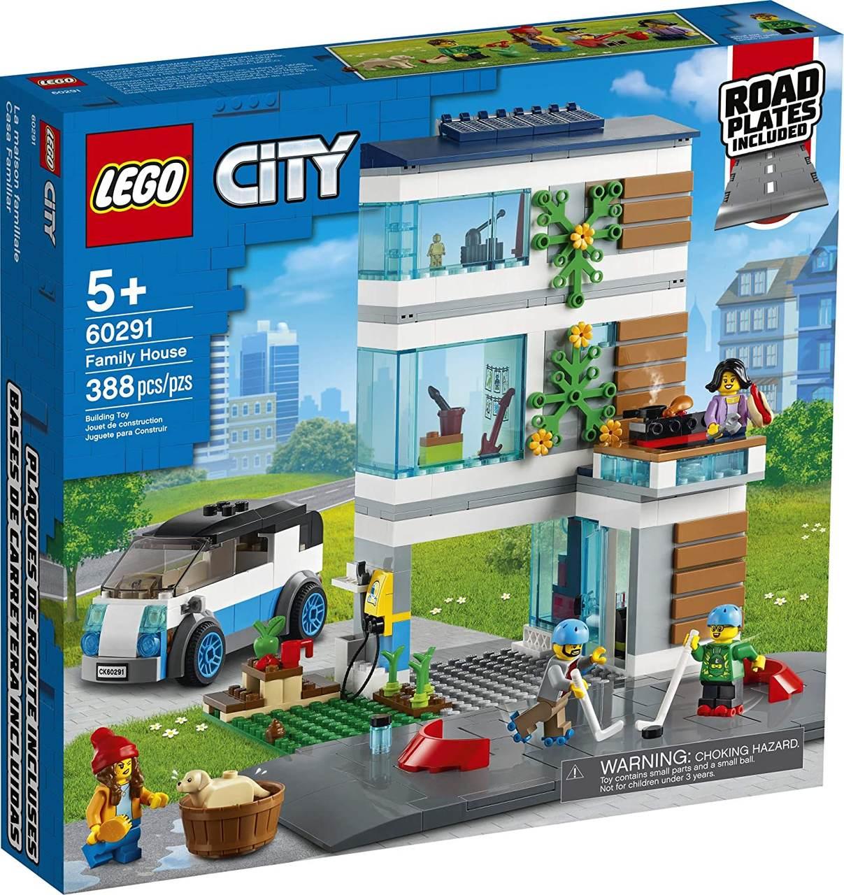 LEGO City - Casa de Família Moderna 60291