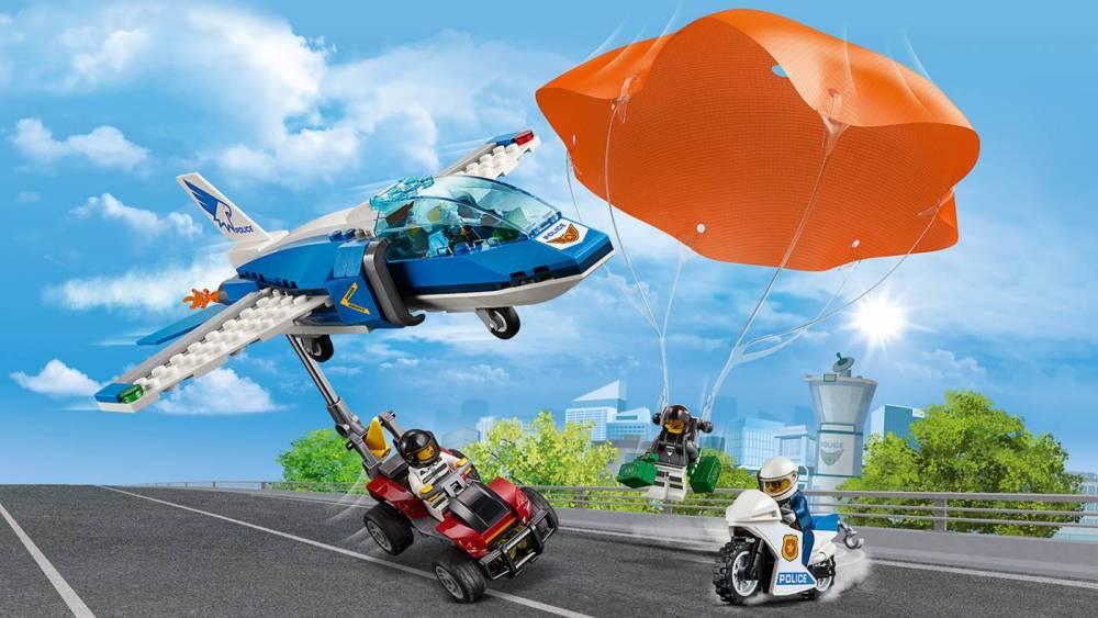 LEGO City - Detenção de Para-quedas 60208