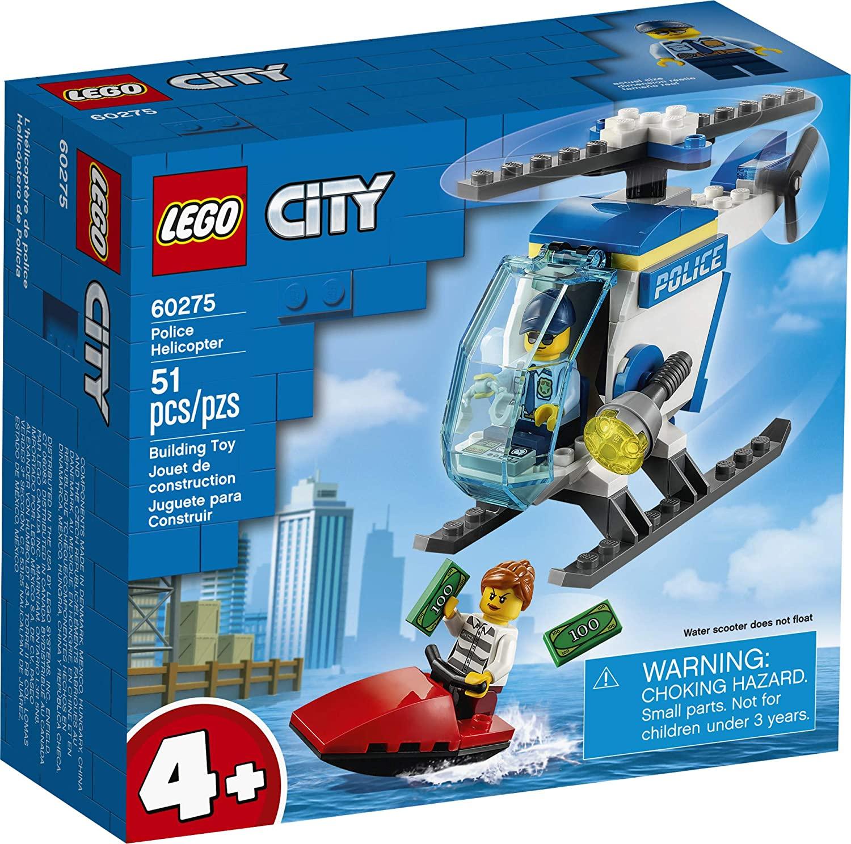 LEGO CIty - Helicóptero da Polícia 60275