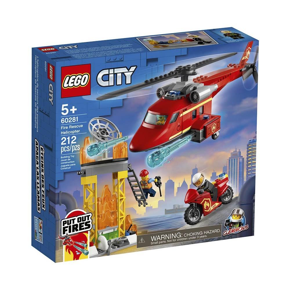 LEGO City - Helicóptero de Resgate dos Bombeiros 60281