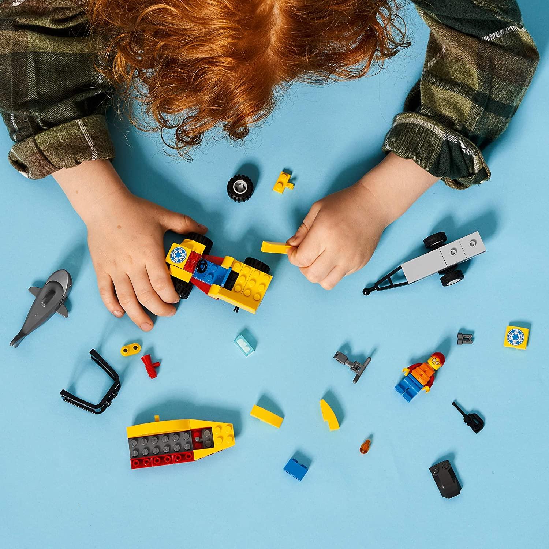 LEGO CIty - Off-Road de Resgate na Praia 60286