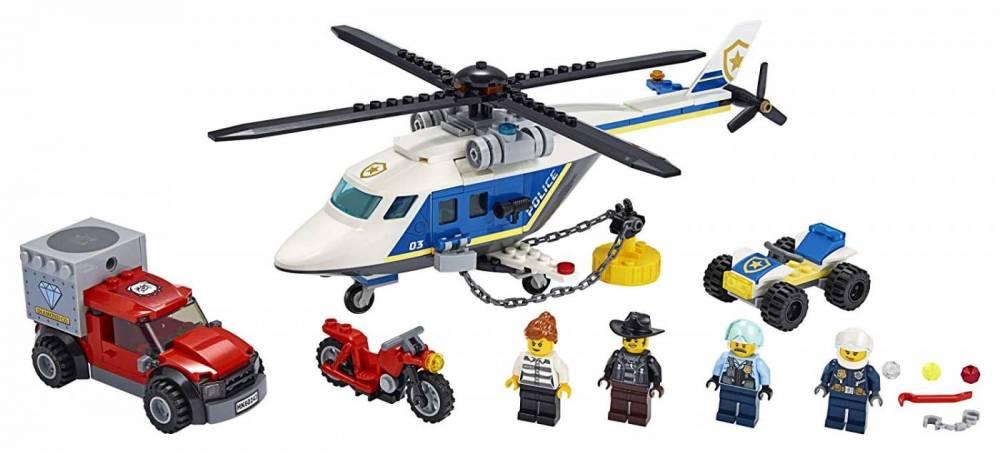 LEGO City - Perseguição Policial de Helicóptero