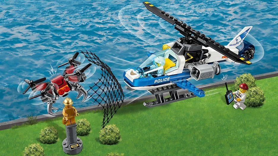 LEGO City - Polícia Aérea - Perseguição de Drone
