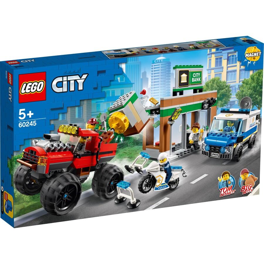Lego CITY - Policia Monster Truck Caminhão De Assalto 60245