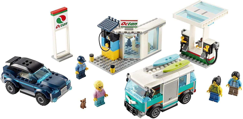 LEGO CITY - Posto de Gasolina 60257