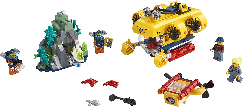 LEGO City - Submarino de Exploração do Oceano 60264