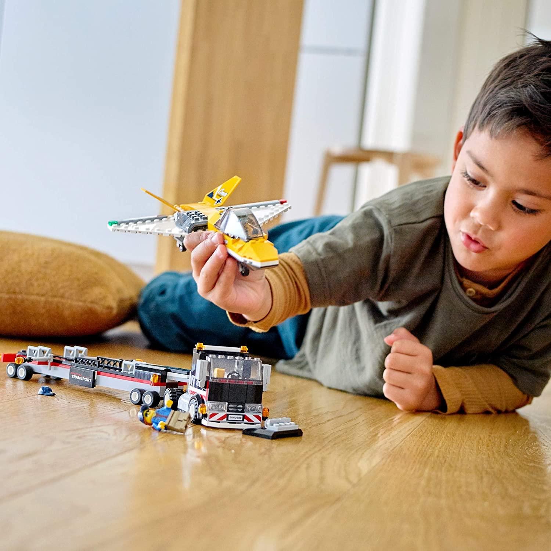 LEGO CIty - Transportador de Avião de Acrobacias Aéreas 60289