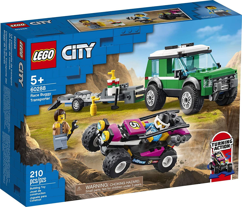 LEGO City -Transportador de Buggy de Corrida - 60288