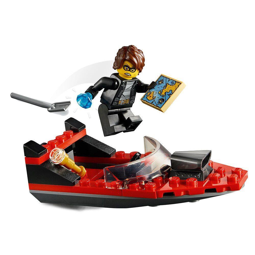 LEGO City - Transporte de Barco da Polícia de Elite 60272