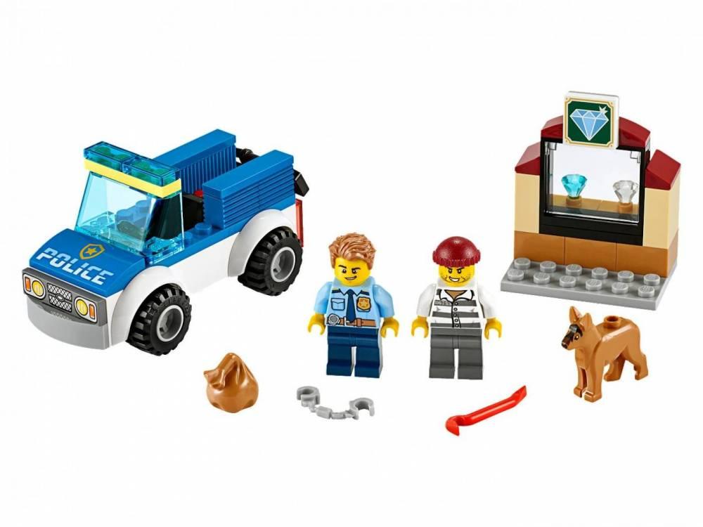 LEGO City - Unidade de Cães-Policiais 60241